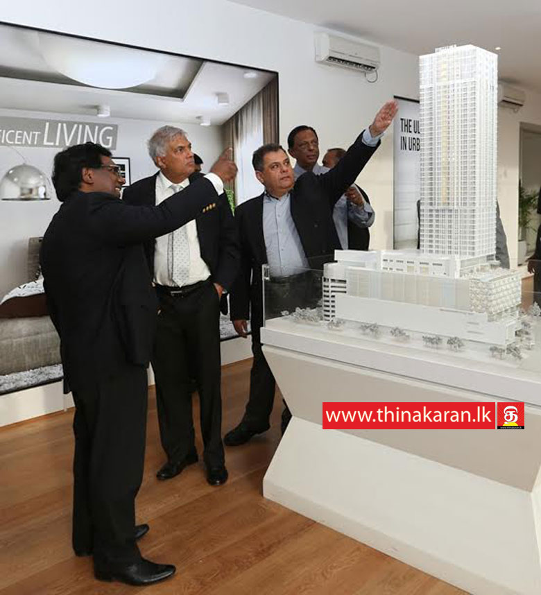 Colombo City Centre திறந்துவைப்பு-Colombo City Centre Opening-PM Ranil