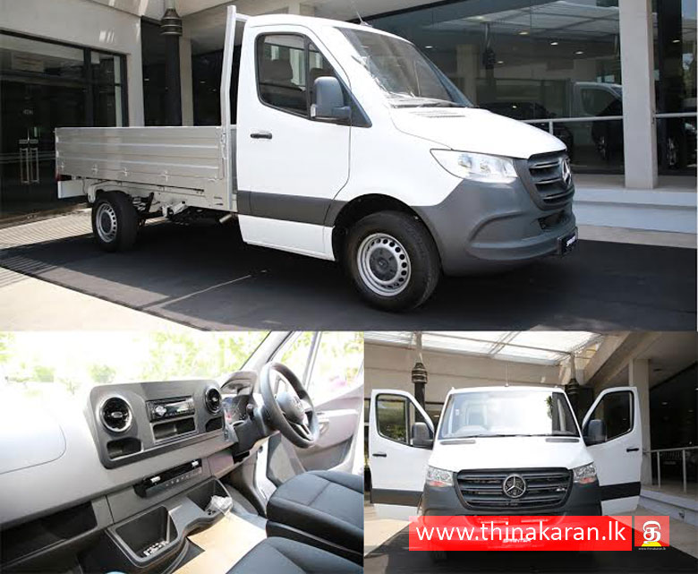 Mercedes-Benz Sprinter Single Cab வாகனத்தை விநியோகம் செய்த DIMO-DIMO delivers first all-new Mercedes-Benz Sprinter Single Cab