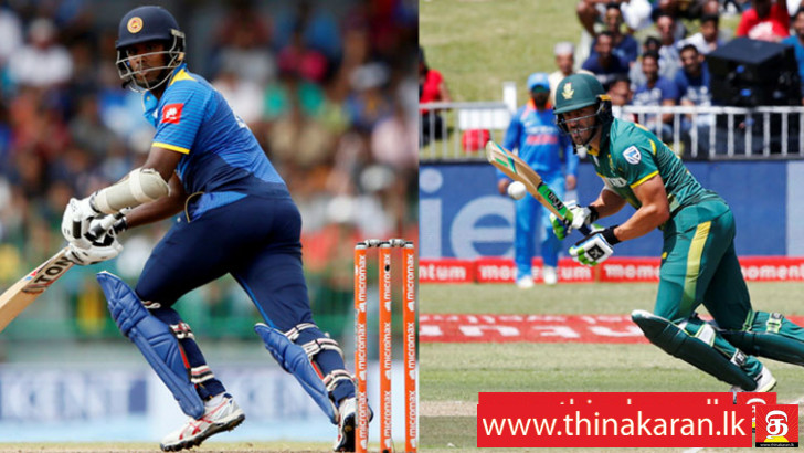 1st ODI - SLvSA: இலங்கை அணி 193 ஓட்டங்கள் (UPDATE)-South Africa Tour of Sri Lanka 1st ODI SLvSA at Dambulla Sri Lanka Won the toss and elected to bat