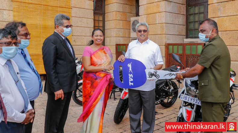 805 PHI களுக்கு மோட்டார் சைக்கிள்கள்-Provision of Motorcycles by the President to PHIs